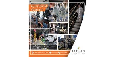 ATALIAN: Covid-19 Sonrası Sosyal Yaşam ve Hijyen Hizmetleri